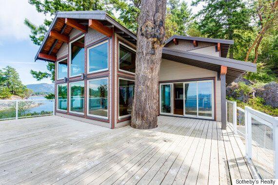 À vendre : l'île Whitestone, en Colombie-Britannique, est un oasis au milieu de l'océan