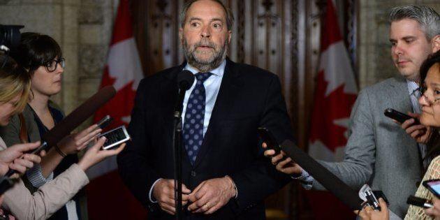 Thomas Mulcair prévoit quitter la vie politique en 2019, selon La