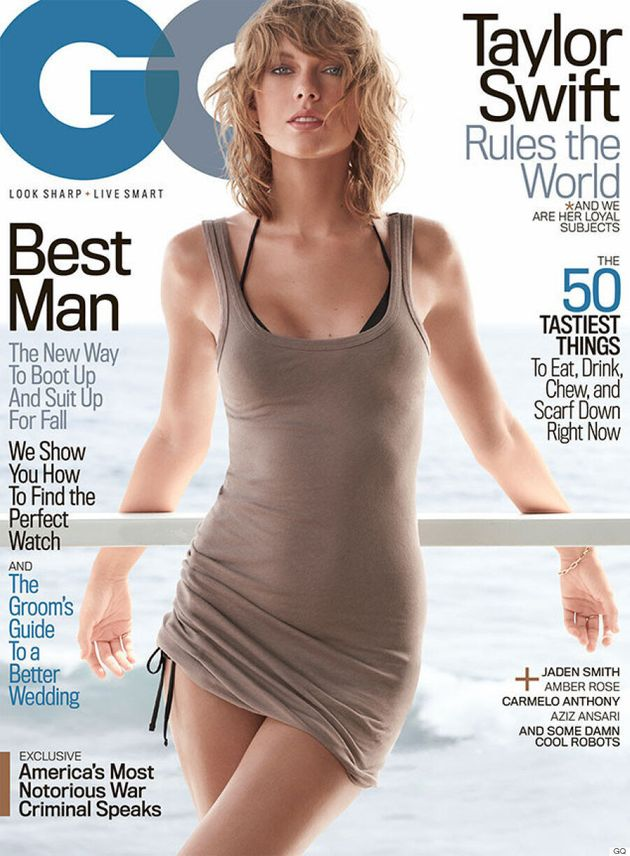 Taylor Swift sexy à la Une du GQ du mois de novembre