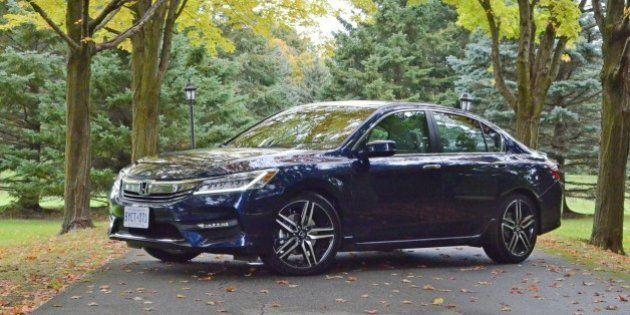 Premier Contact Honda Accord 2016 : tirée vers le haut