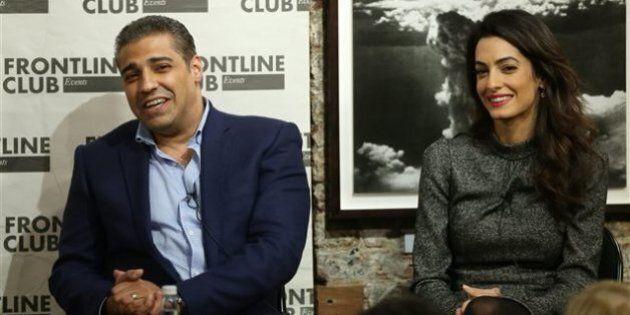 Le journaliste canadien Mohamed Fahmy remercie son épouse et son avocate Amal