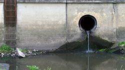 Déversement dans le fleuve: «seule solution possible», dit