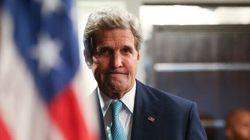 Visite surprise de John Kerry en