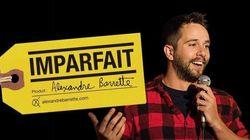 Nouveau spectacle: Alexandre Barrette s'avoue