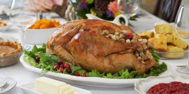 Thanksgivig dinner on