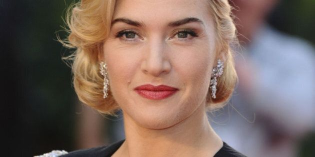 kate winslet arriving for the