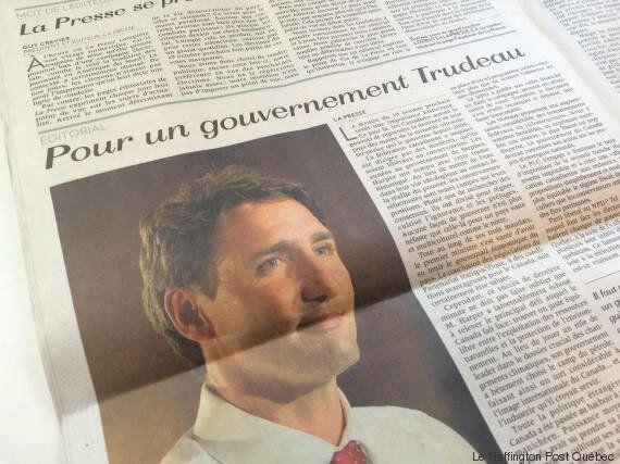 Le journal La Presse se déclare pour l'élection d'un gouvernement