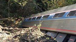 Un train de passagers déraille au