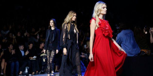 Kendall Jenner et Gigi Hadid, les inséparables, défilent pour Elie Saab