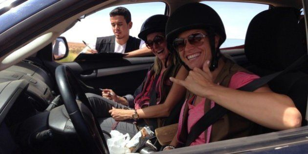 Cap Fémina Aventure: les «Cap Fées» en bas des dunes du désert marocain