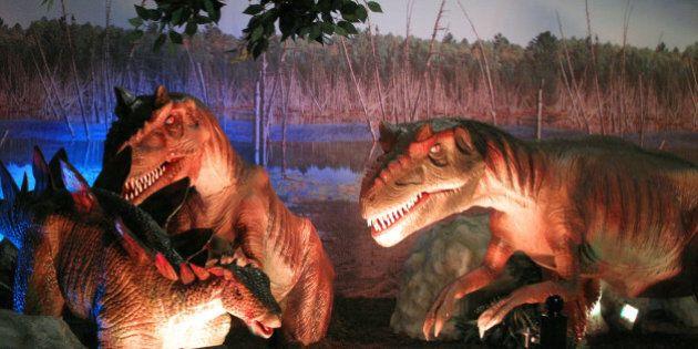 «Dinosaures redécouverts 2»: Des airs de réalité au Centre des sciences de Montréal