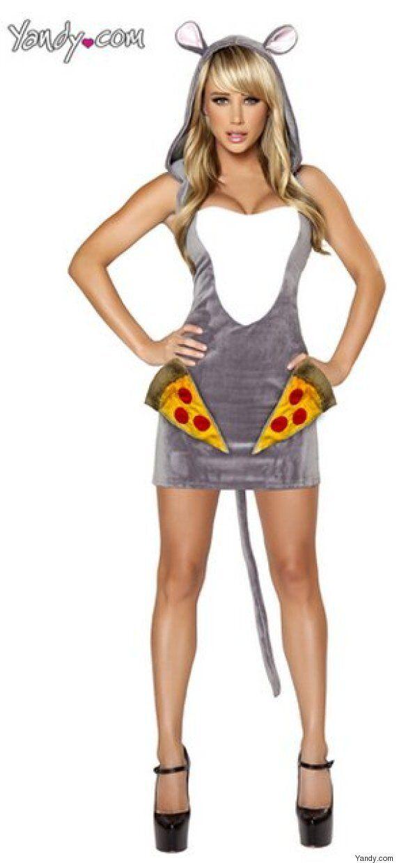 Le rat sexy, ou quand les costumes d'Halloween vont trop