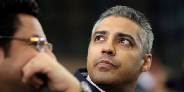 FILE - In this Monday, June 1, 2015 file photo, Canadian Al Jazeera English journalist Mohammed Fahmy,...