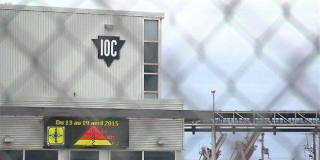 Colis suspect à Sept-Îles: deux travailleurs de la compagnie IOC