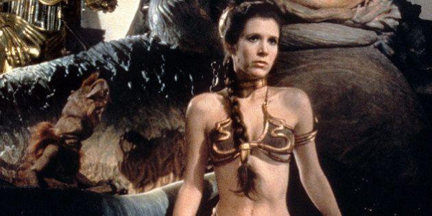 Le bikini «esclave» de Princesse Leia porté par Carrie Fisher s'est vendu pour 96 000$ dans un