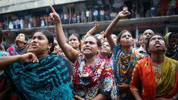 En solidarité envers les travailleuses du textile qui risquent leur