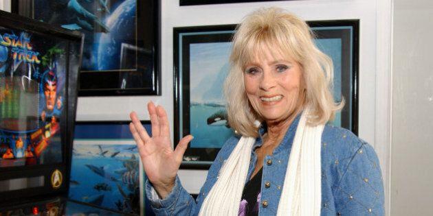 398328 06: 'Star Trek' cast member Grace Lee Whitney attends the VIP Open House at the Light Speed Fine...