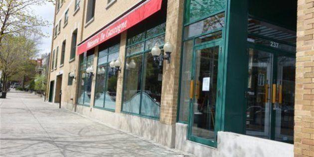 La terrasse d'une pâtisserie sur Laurier fermée après 20 ans