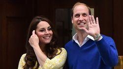 Kate Middleton est radieuse après avoir donné naissance au deuxième bébé
