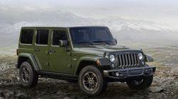 Le nouveau Jeep Wrangler aurait 300
