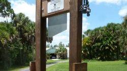 Une guillotine pour effrayer les