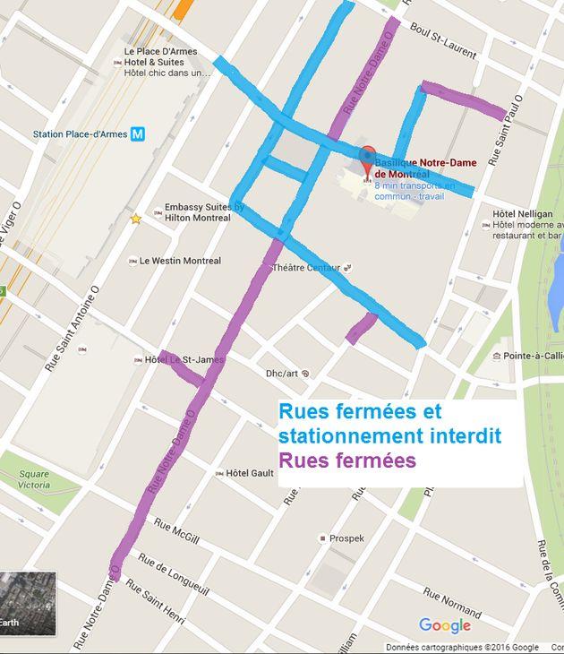 Funérailles de René Angélil : Les rues fermées ce jeudi et ce
