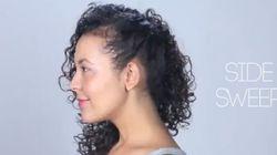 10 coiffures pour les cheveux bouclés à tenter maintenant