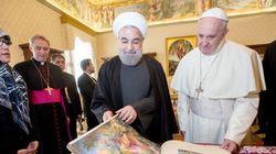 Le pape François rencontre le président iranien Hassan