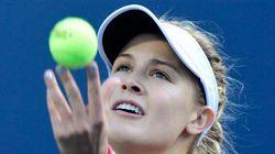 Eugenie Bouchard éliminée au 2e
