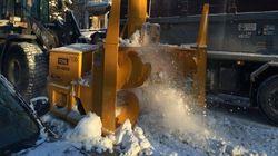 Montréal déneige ses artères et ses rues à compter de ce