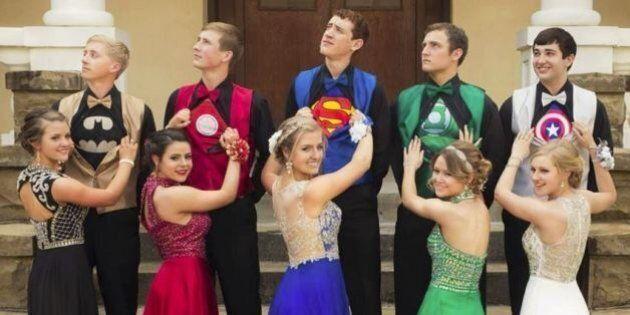 Ces étudiants américains ont su faire sensation au bal de fin d'année