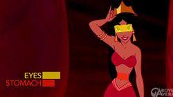 Disney: les yeux des princesses plus gros que leur estomac