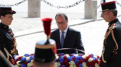 Jour de commémoration à Paris