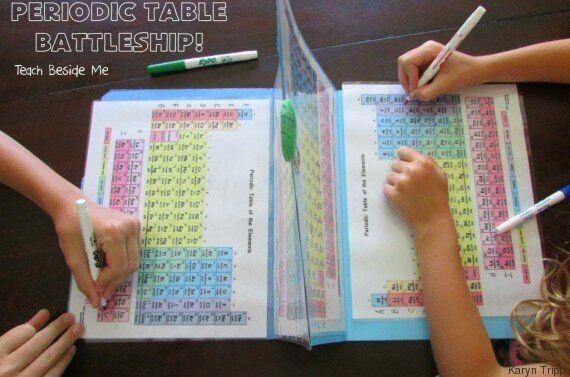 Elle crée un jeu pour apprendre le tableau périodique à ses