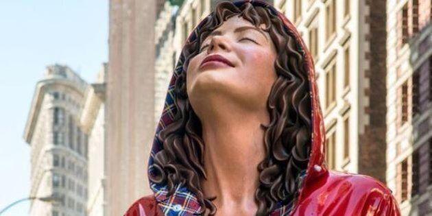 Les sculptures en bronze de Carole A. Feuerman sont plus vraies que nature