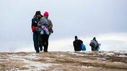 Migrants: Les enfants risquent hypothermie, pneumonie et autres
