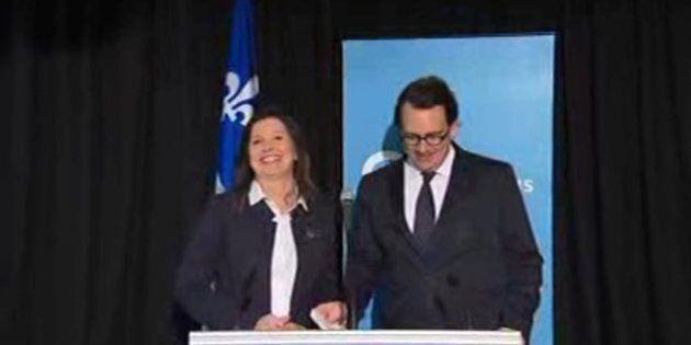 Louise-Andrée Moisan, la directrice de la recherche du Parti québécois,