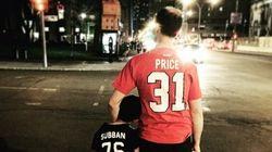 Cette photo exprime bien l'esprit des fans du Canadien ce