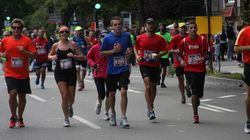 Victoire de Nicholas Berrouard au 25e marathon de