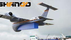 Shango: l'avion cargo qui permet le ravitaillement là où il n'y a pas