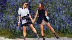 Mode à Paris: chez Dior, douceur et montagne de