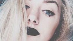 Chic, le rouge à lèvres noir