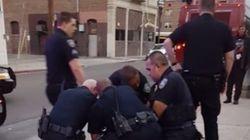 Un ado noir frappé par la police après avoir traversé hors du passage piéton aux États-Unis