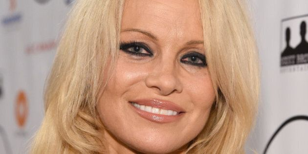TORONTO, ON - SEPTEMBER 11:  Actress Pamela Anderson attends the 5th Annual Producers Ball presented by Scotiabank in support of The 2015 Toronto International Film Festival at Royal Ontario Museum on September 11, 2015 in Toronto, Canada.  (Photo by Mike Windle/Getty Images)