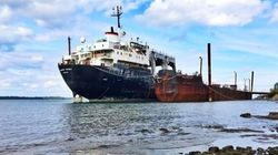 Un cargo indésirable s'éternise sur le Saint-Laurent