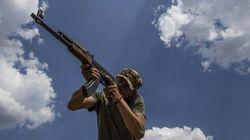 Des combattants tchétchènes en