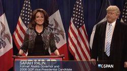 Tina Fey de retour dans SNL pour parodier Sarah Palin