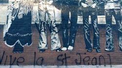 La murale Beau Dommage vandalisée