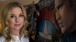 «Captain America - Civil War»: entrevue avec Emily VanCamp