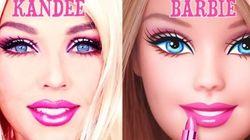 Cette femme se transforme en Barbie en 90